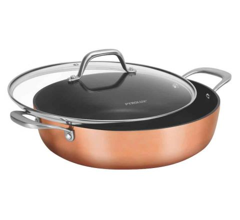 Pyrolux  Coppertone 28cm Non-stick Covered Chef Pan - SKU 11909