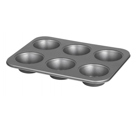 International American Muffin Pan 6 Pods - SKU 12213