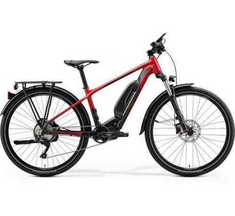 2020 Merida eBig Seven 300 SE EQ Silk Red with Black - SKU 20ME26581