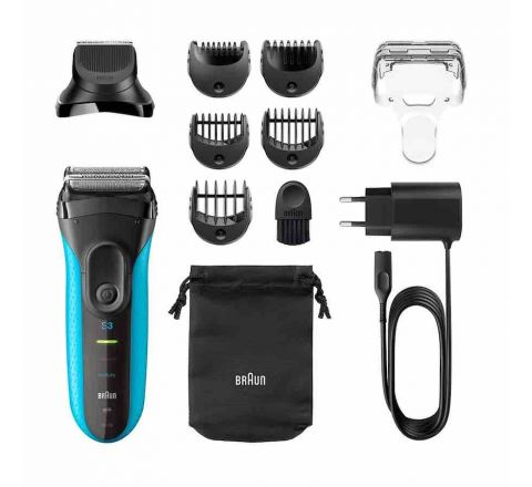 Braun Series 3 – 3-in-1 Trimmer and Shaver - SKU 3010BT
