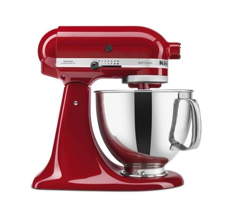 KitchenAid 4.8L Artisan Stand Mixer Empire Red- SKU 5KSM150PSAER