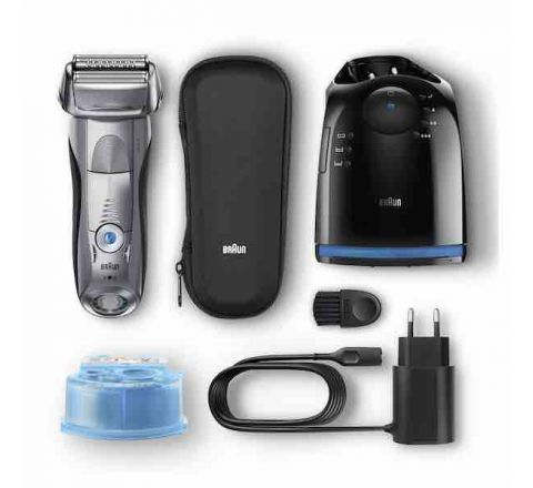 Braun Series 7 Wet and Dry Electric Shaver with Clean and Charge System - SKU 7899CC