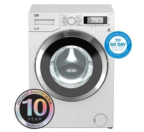Beko 8kg Front Loading Washing Machine - SKU WMY8068LB1