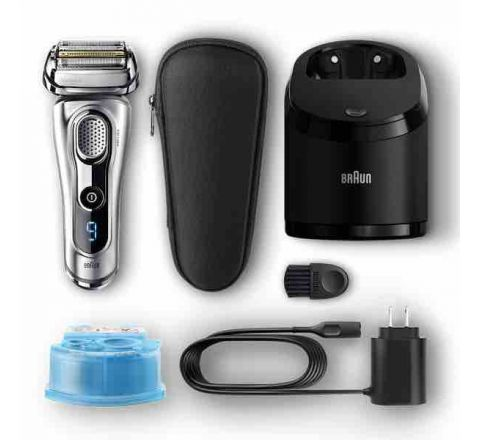 Braun Series 9 Wet & Dry Shaver with Clean & Charge System - SKU 9290CC