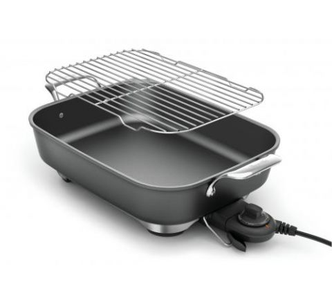 Breville The Thermal Pro Non-Stick Electric Frypan - SKU BEF460GRY