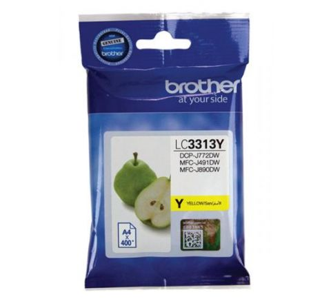 Brother Ink Cartridge Yellow - SKU LC3313Y