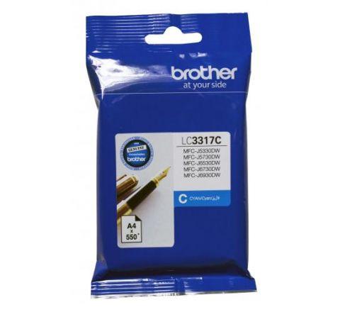 Brother Ink Cartridge Cyan - SKU LC3317C
