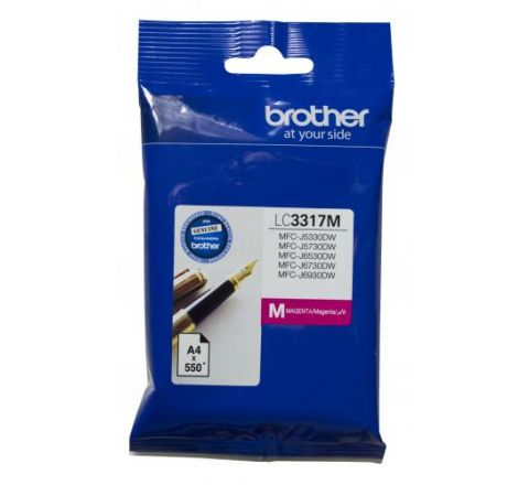 Brother Ink Cartridge Magenta - SKU LC3317M