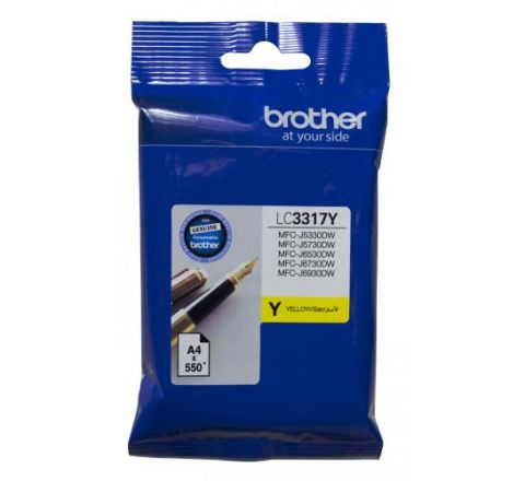 Brother Ink Cartridge Yellow - SKU LC3317Y