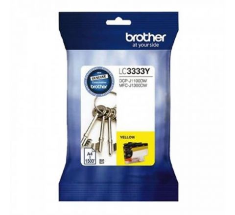 Brother Ink Cartridge Yellow - SKU LC3333Y