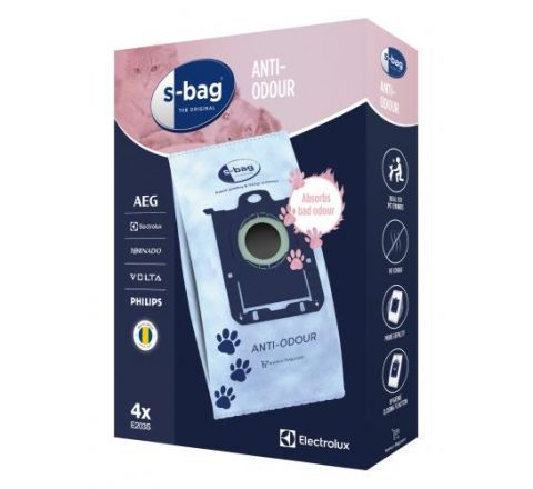 Electrolux Anti-Odour Vacuum Bags - SKU E203S