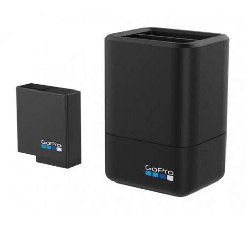 GoPro Dual Battery Charger + Battery HERO5 Black - SKU AADBD001