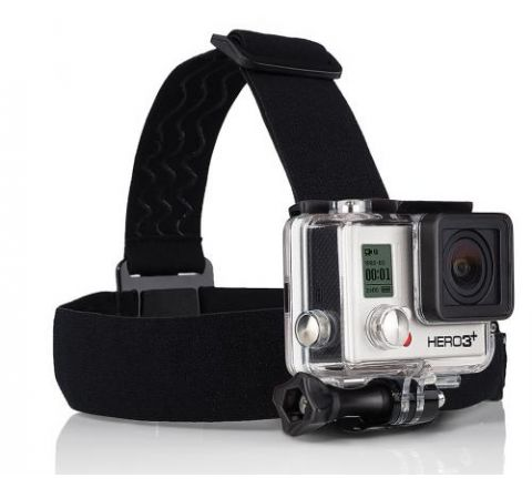 GoPro Head Strap Mount + Quick Clip - SKU ACHOM001