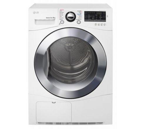 LG 8kg Condenser Dryer - SKU TDC80NPW