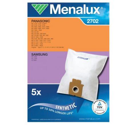 Menalux 2702 Vacuum Cleaner Bags - SKU 2702
