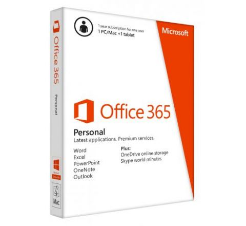 Microsoft Office 365 Personal 1 Year Subscription - SKU QQ200645
