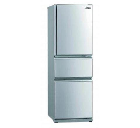 Mitsubishi Electric 306L Connoisseur Two Drawer Refrigerator - SKU MRCX306EMST