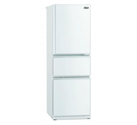 Mitsubishi Electric 306L Connoisseur Two Drawer Refrigerator - SKU MRCX306EMW