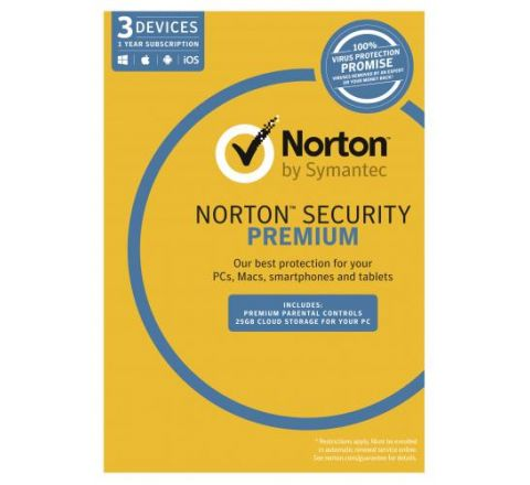 Norton Security Premium 3.0 1 User 3 Devices - SKU 21353818