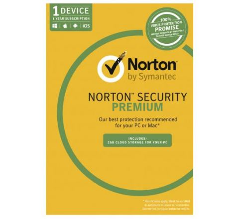 Norton Security Premium 3.0 1 User 1 Device - SKU 21353909