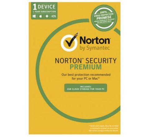 Norton Security Premium 3.0 1 User 1 Device - SKU 21353909