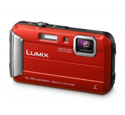 Panasonic Lumix Tough Digital Waterproof Camera - SKU DMCFT30GNR
