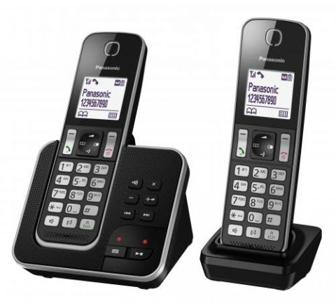 Panasonic Cordless Phone Twin Pack - SKU KXTGD322NZB