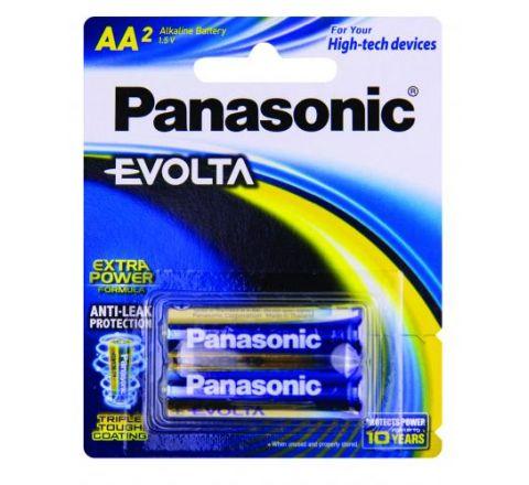 Panasonic Evolta AA Batteries 2 Pack - SKU LR6EG2B