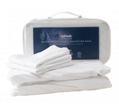 SleepMaker Mattress and Pillow Protector Set Queen - SKU 1029013