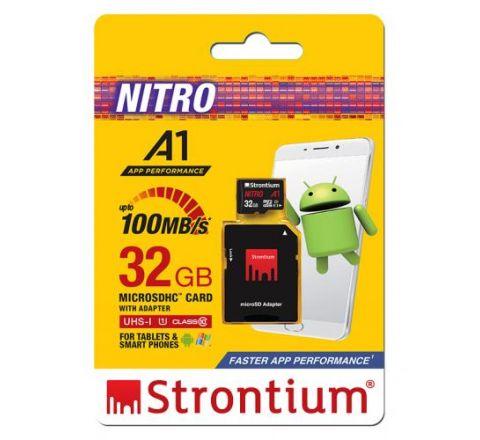 Strontium NITRO 32GB MicroSD Card - SKU SRN32GTFU1A1A