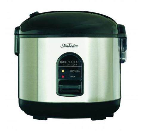Sunbeam Rice Perfect Deluxe 7 and Steamer - SKU RC5600
