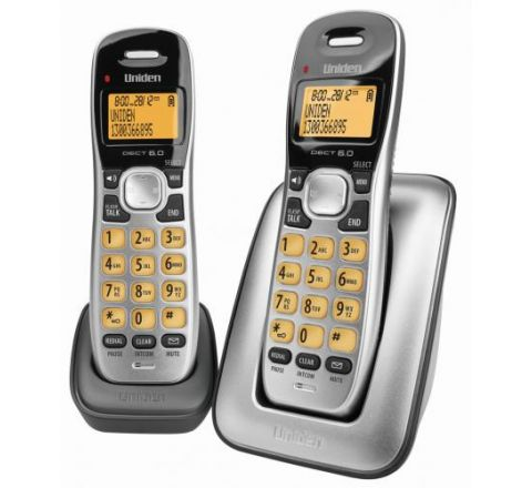 Uniden Cordless Phone Twin Pack - SKU DECT17151