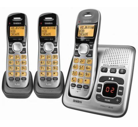 Uniden Cordless Phone Triple Pack - SKU DECT17352