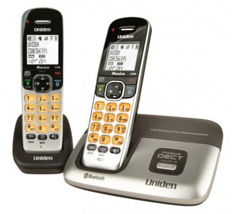 Uniden Bluetooth Cordless Phone Twin Pack - SKU DECT32161