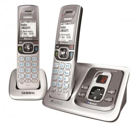 Uniden Cordless Phone Twin Pack - SKU XDECT51351