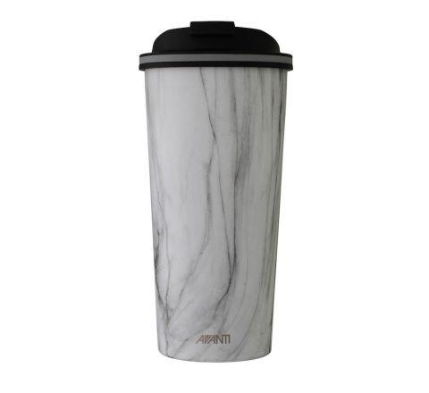 Avanti Go Cups 473ml White Marble - SKU 13488