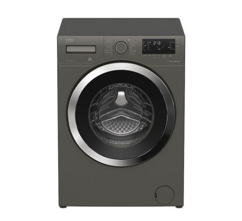 Beko 8.5 kg Manhattan Grey Front Loading Washing Machine - SKU BFL8510MG