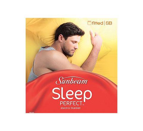 Sunbeam Sleep Perfect Fitted Large Single Electric Blanket - SKU BL5121