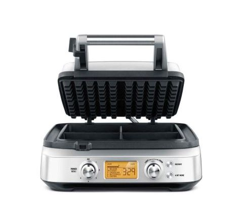 Breville 4-Slice Waffle Maker Pro with LCD Display - SKU BWM640BSS