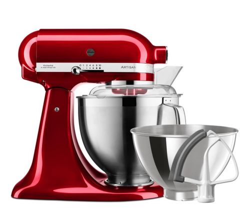 KitchenAid 4.8L Artisan Stand Mixer + Flex Edge Beater, Red- SKU 5KSM177ACA