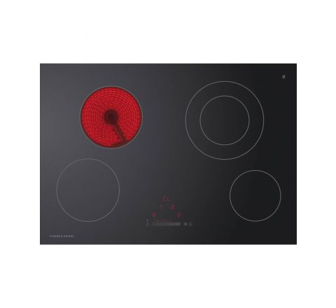 Fisher & Paykel 75cm Electric Touch & Slide Cooktop - SKU CE754DTB1