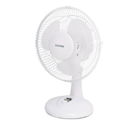 Goldair 23cm Oscillating Desk Fan - SKU GCDF121