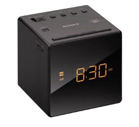 Sony Single Alarm Clock Radio Black - SKU ICFC1B