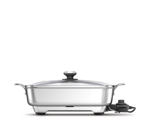 Breville The Thermal Pro Stainless Frypan - SKU BEF560BSS