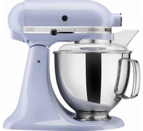 Kitchen Aid 4.8L Artisan Tilt-Head Stand Mixer (Two Bowls) Lavender - SKU 5KSM160PSALR
