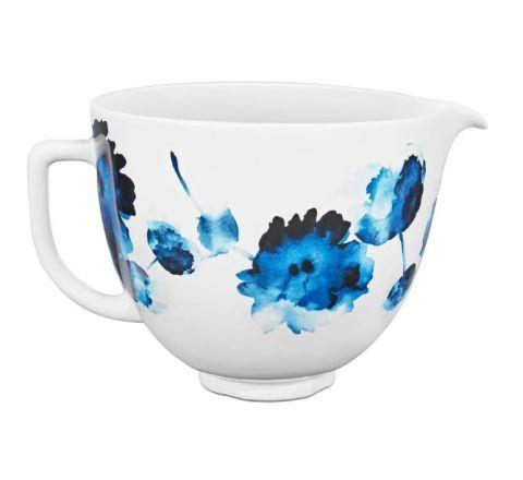 KitchenAid 4.7L Watercolour Ceramic Bowl for Tilt-Head Stand Mixer - SKU KSM2CB5PIW