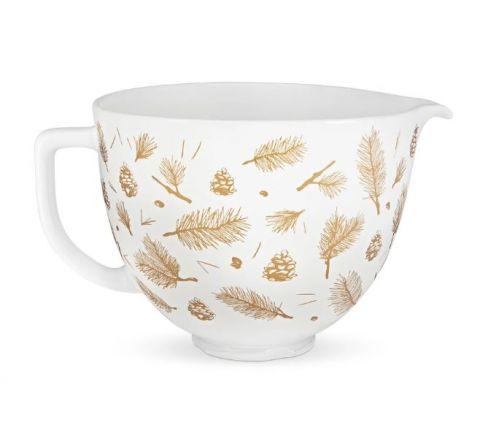 KitchenAid 4.7L Pine and Berries Ceramic Bowl for Tilt-Head Stand Mixer - SKU KSM2CB5PPB