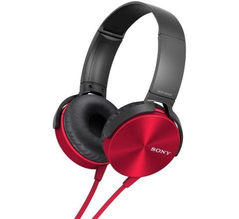 Sony EXTRA BASS™ Headphones Red - SKU MDRXB450APR