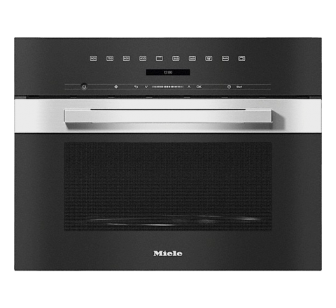 Miele M 7244 TC PureLine CleanSteel Built-in Microwave oven - SKU 11134160