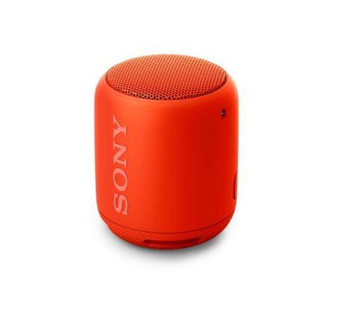 Sony Portable Wireless Speaker with Bluetooth Red - SKU SRSXB10R